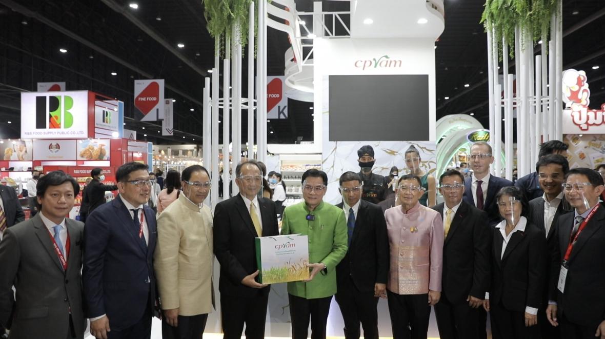 """ซีพีแรม โชว์ศักยภาพผู้นำอาหารปลอดภัย ภายใต้แนวคิด """"ร่วมส่งมอบความเป็นอยู่ที่ดีให้ทุกคน"""" ในงาน THAIFEX - Anuga Asia 2020"""